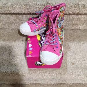 Shopkins High Top Tennis Shoes